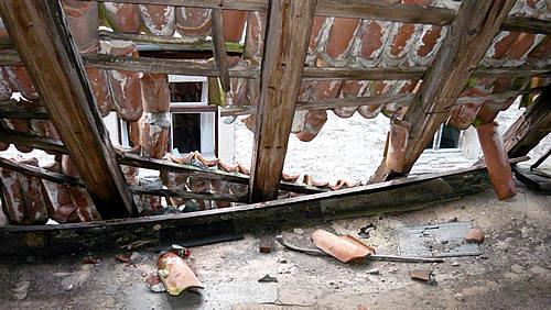 Riehlshof: Schäden am Dach